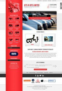 Kits-n-Bits - Web Design - Website Homepage