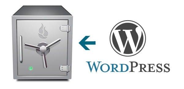 WordPrpess backup
