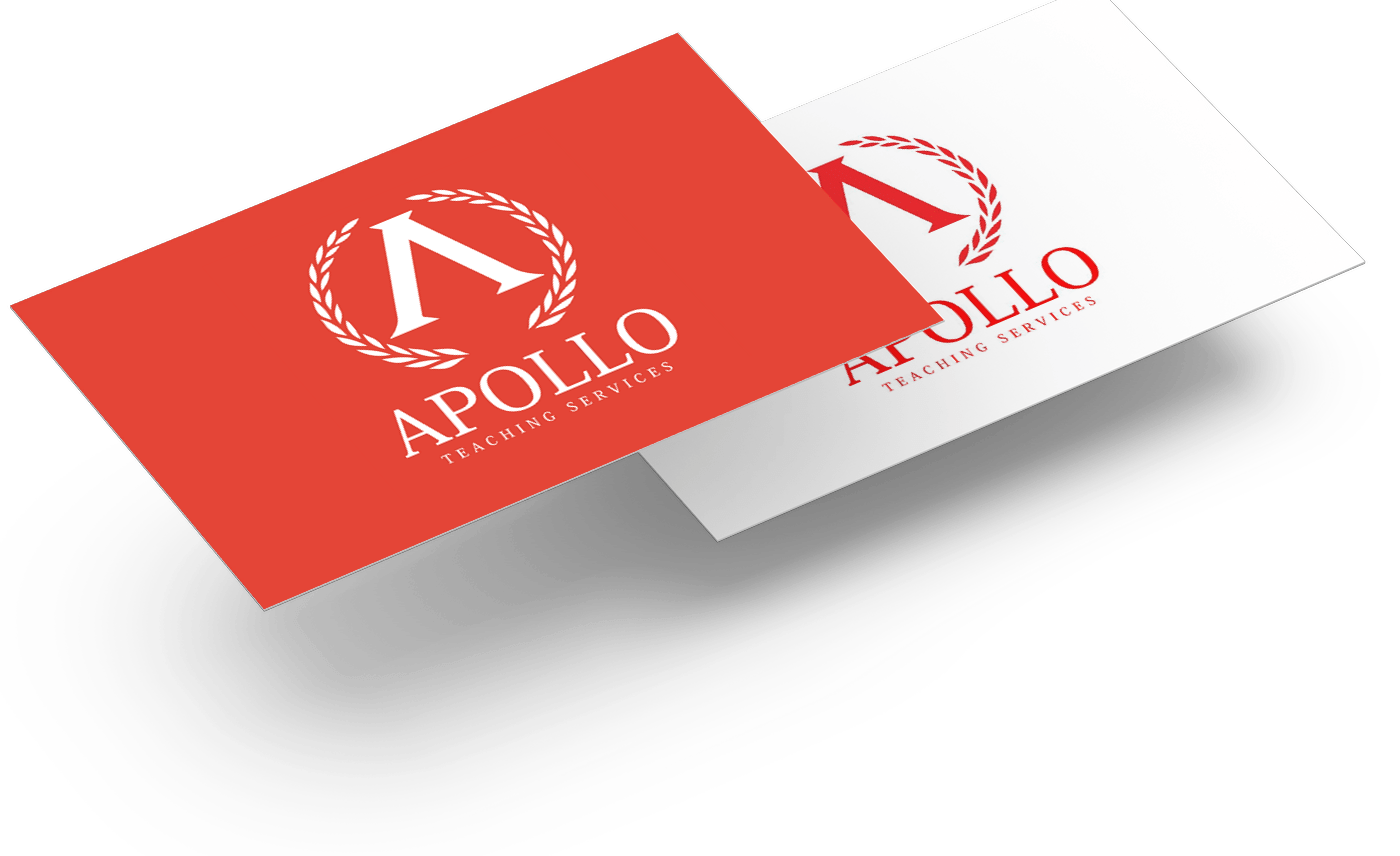 Apollo Teaching - Business Cards - Mockup 01