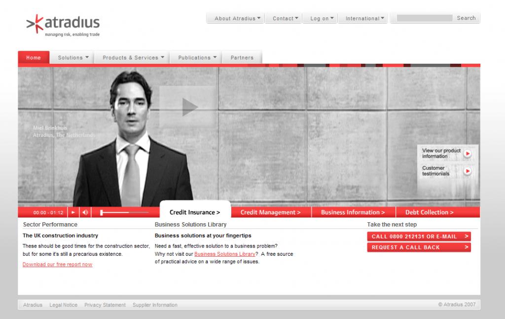 Atradius - Consultancy - Online Business Strategy