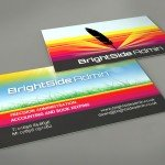 BrightSide Admin - Print Design - Business Cards