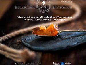 Sarn Helen Preserves - Website Homepage