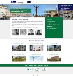 CDN Planning - Web Design - Website Homepage