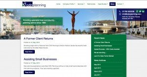 CDN Planning - Web Design - Website News page
