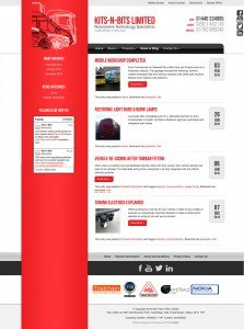 Kits-n-Bits - Web Design - Website Blog Page