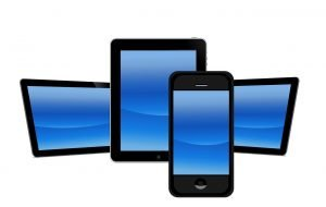 Responsive web design - a range ofdifferent device screens