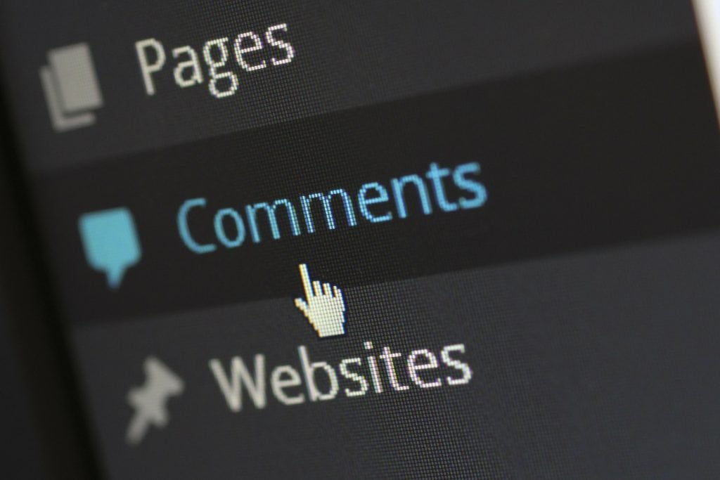 WordPress CMS Training on Comments