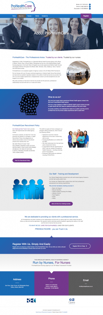 prohealthcare about page