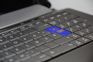 GDPR button on keyboard