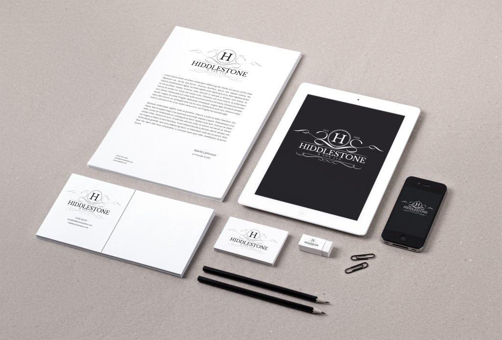 Branding Identity MockUp - Stationery